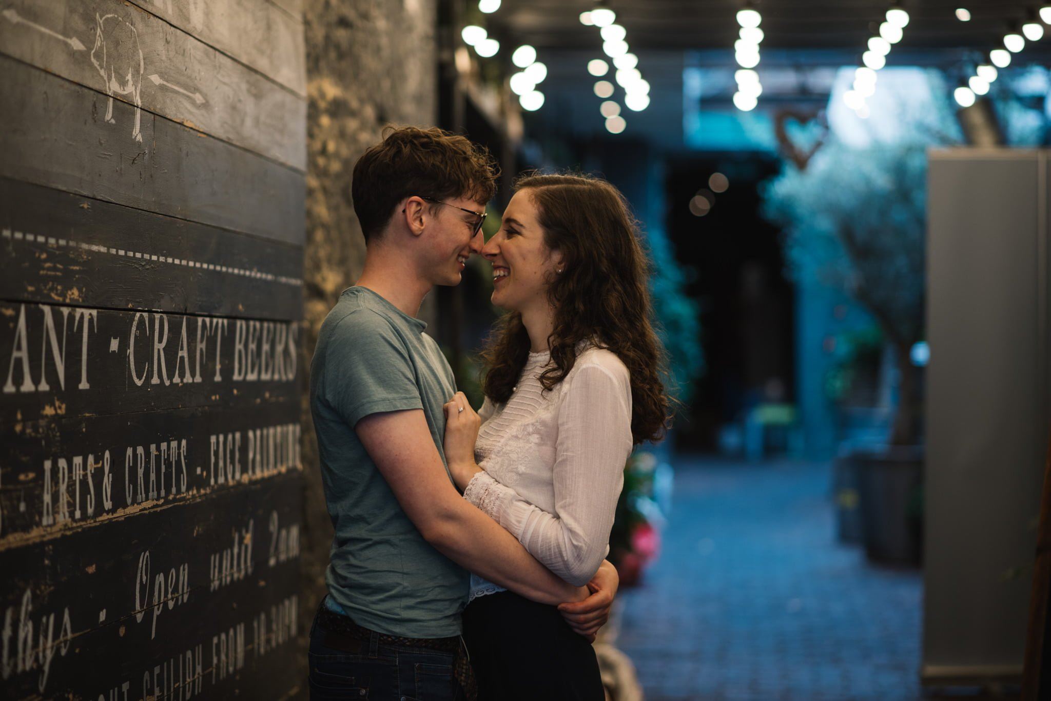 Sarah's and Ian's Engagement Shoot in St. Andrews 4
