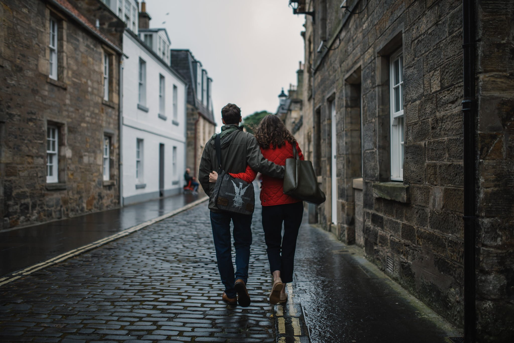 Sarah's and Ian's Engagement Shoot in St. Andrews 7