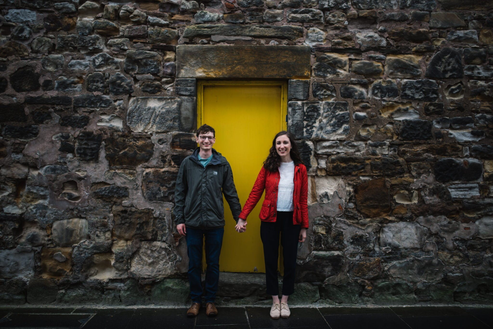 Sarah's and Ian's Engagement Shoot in St. Andrews 9