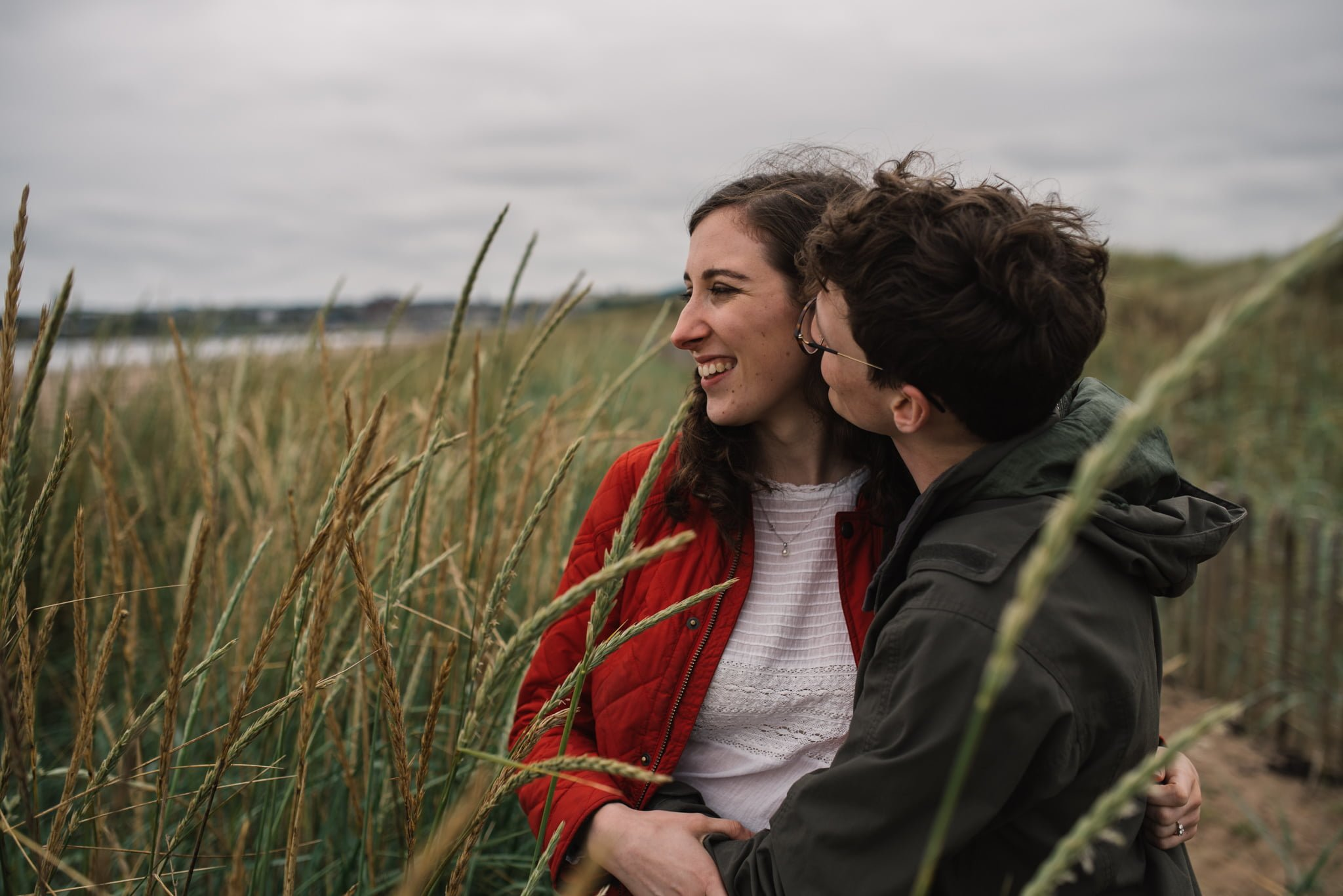 Sarah's and Ian's Engagement Shoot in St. Andrews 34