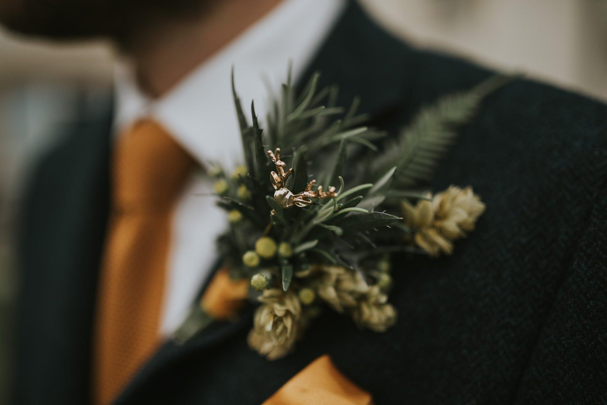 buttonhole groomsman