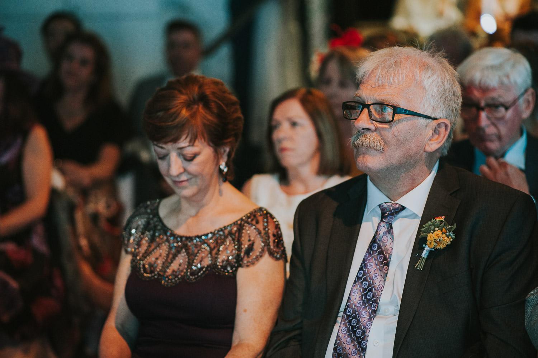 bride's parents