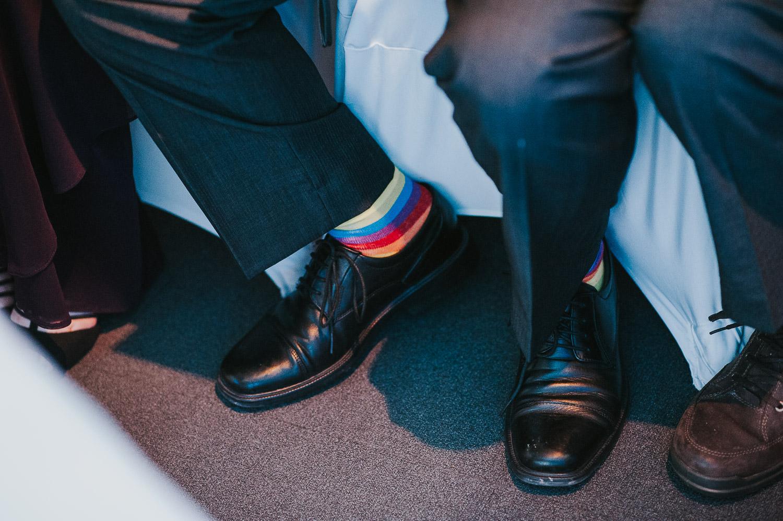 rainbow flag socks