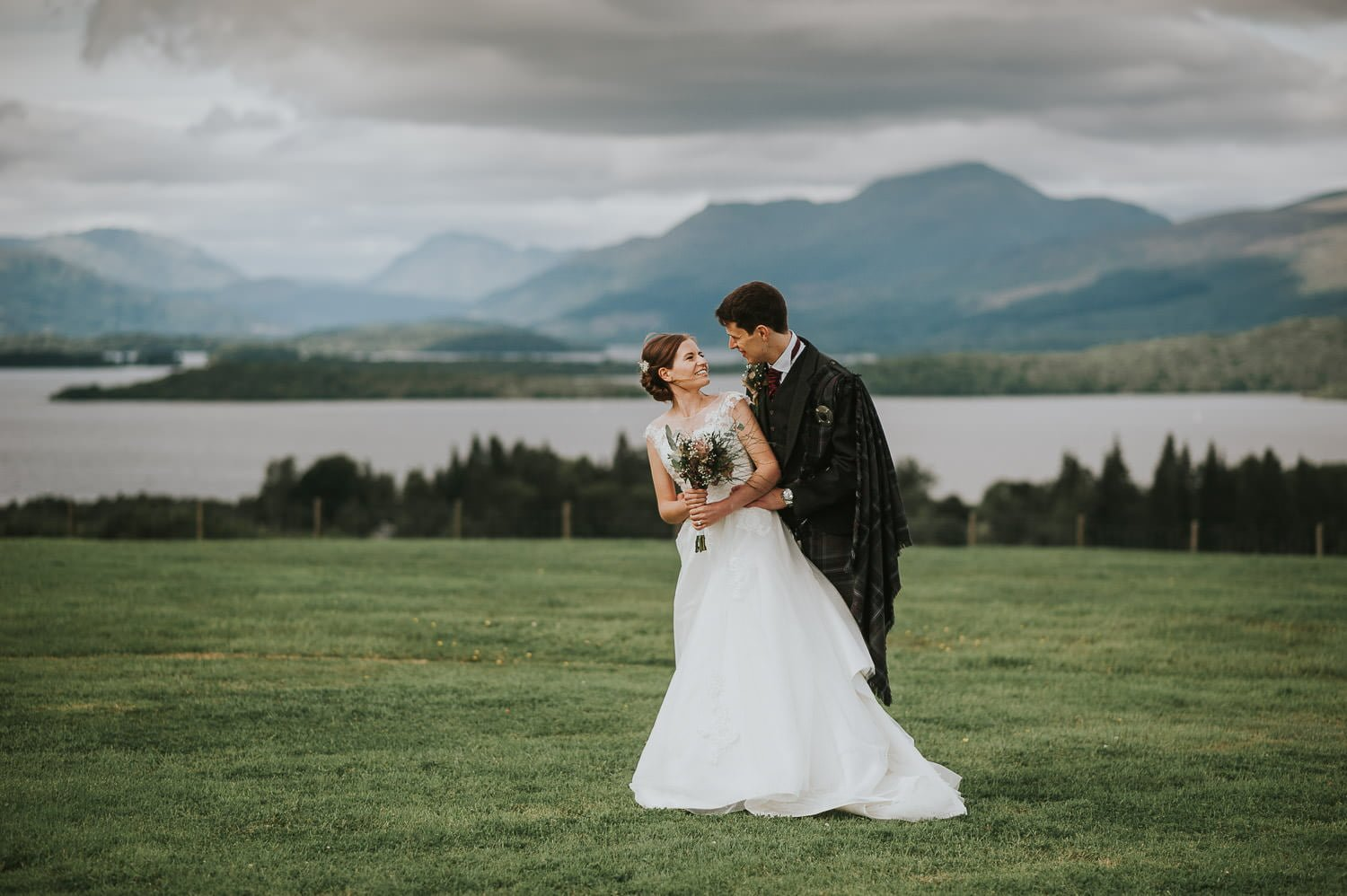 A Beautiful Loch Lomond Wedding at Ardoch 38