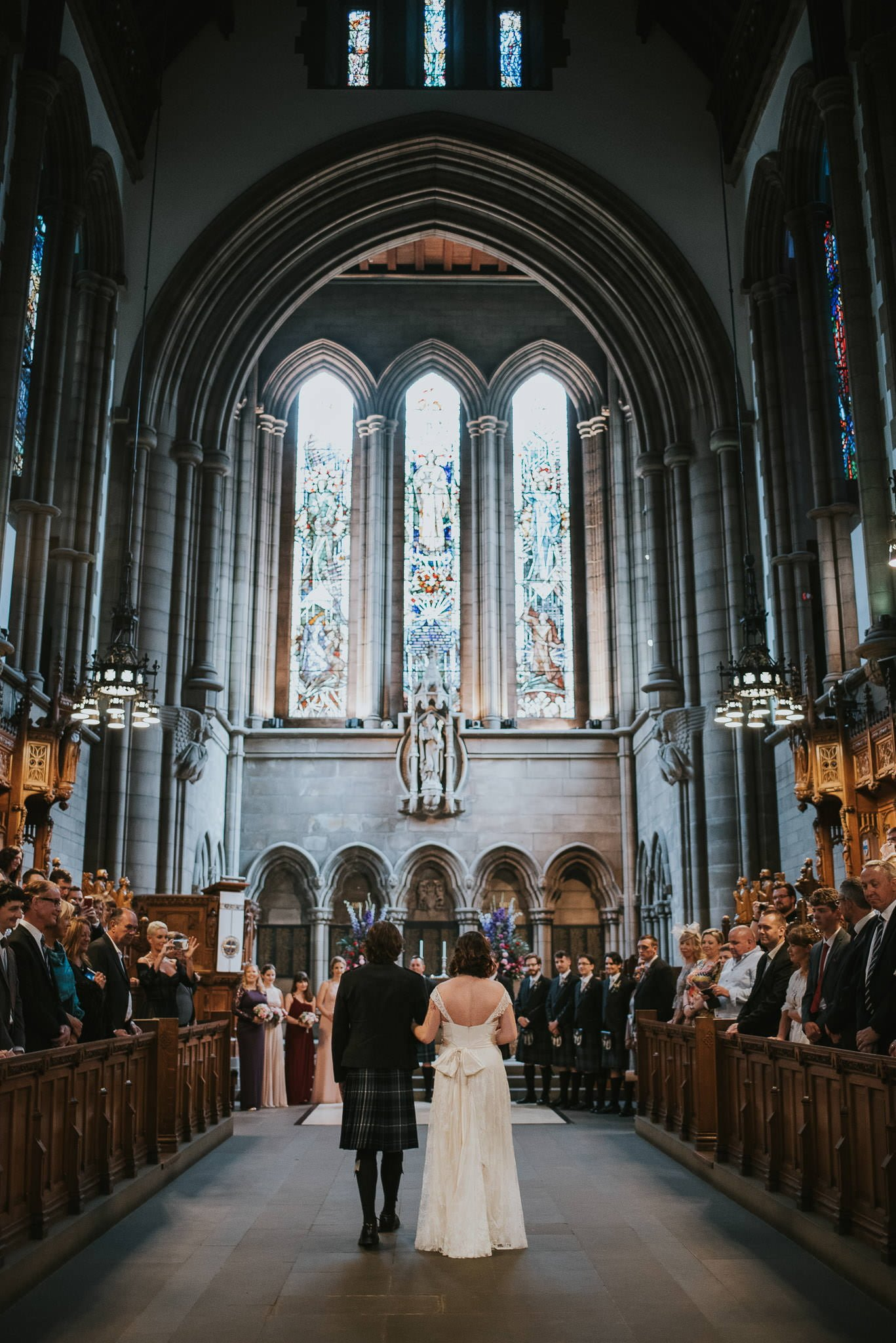 Glasgow University and Cottiers Wedding Glasgow