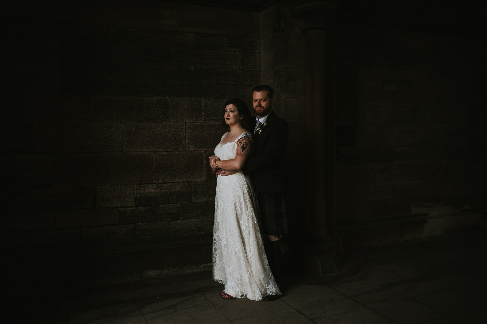 Glasgow University wedding with Cottiers reception