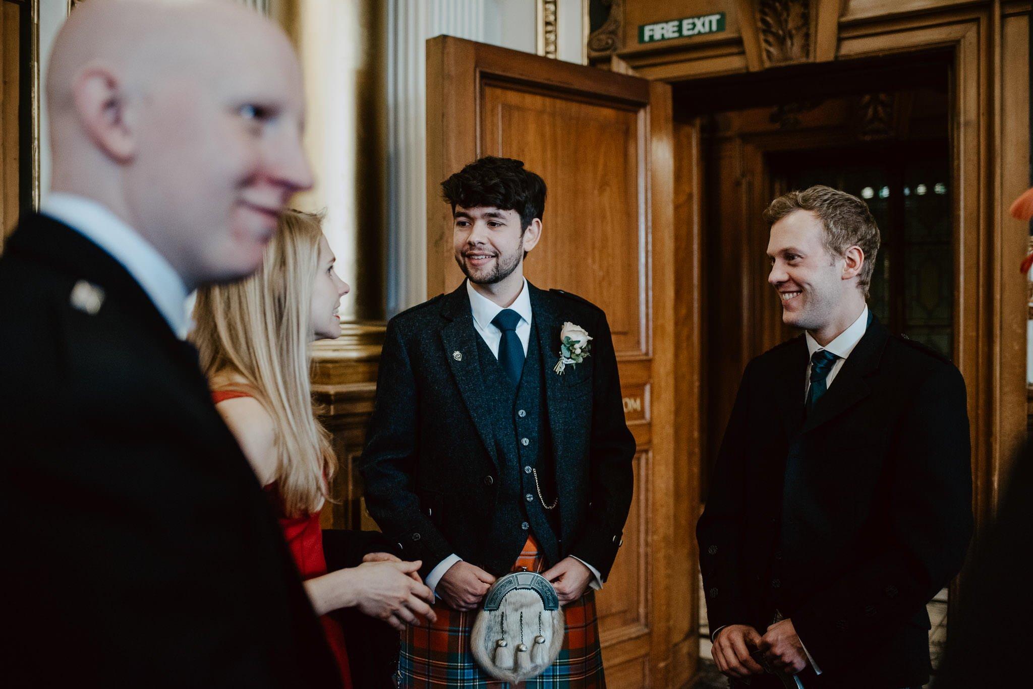 A Charming Edinburgh City Chambers Wedding 6