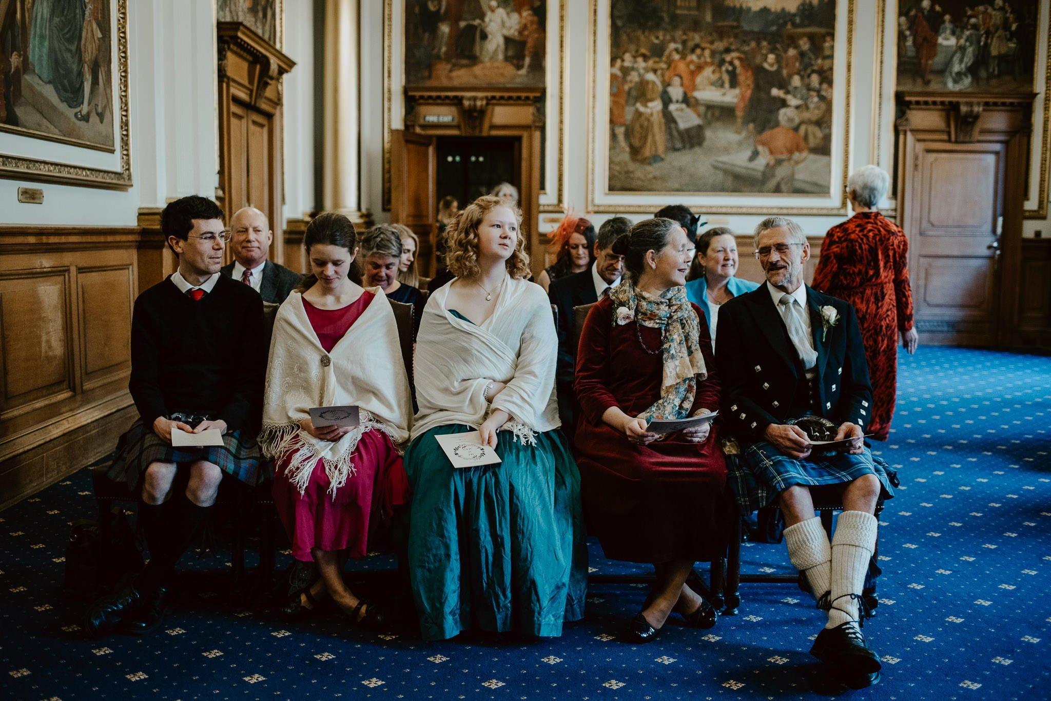 A Charming Edinburgh City Chambers Wedding 12