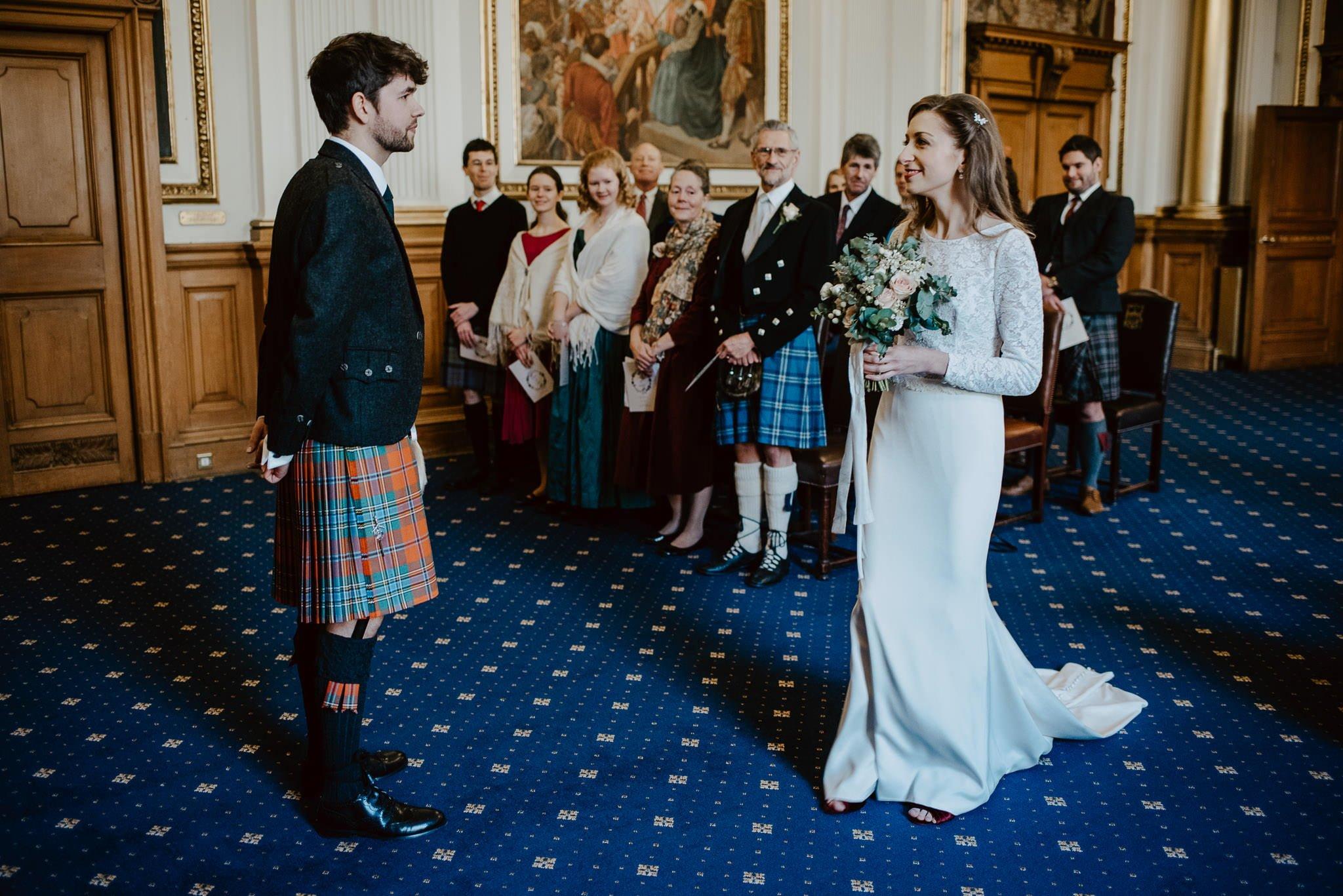 A Charming Edinburgh City Chambers Wedding 14