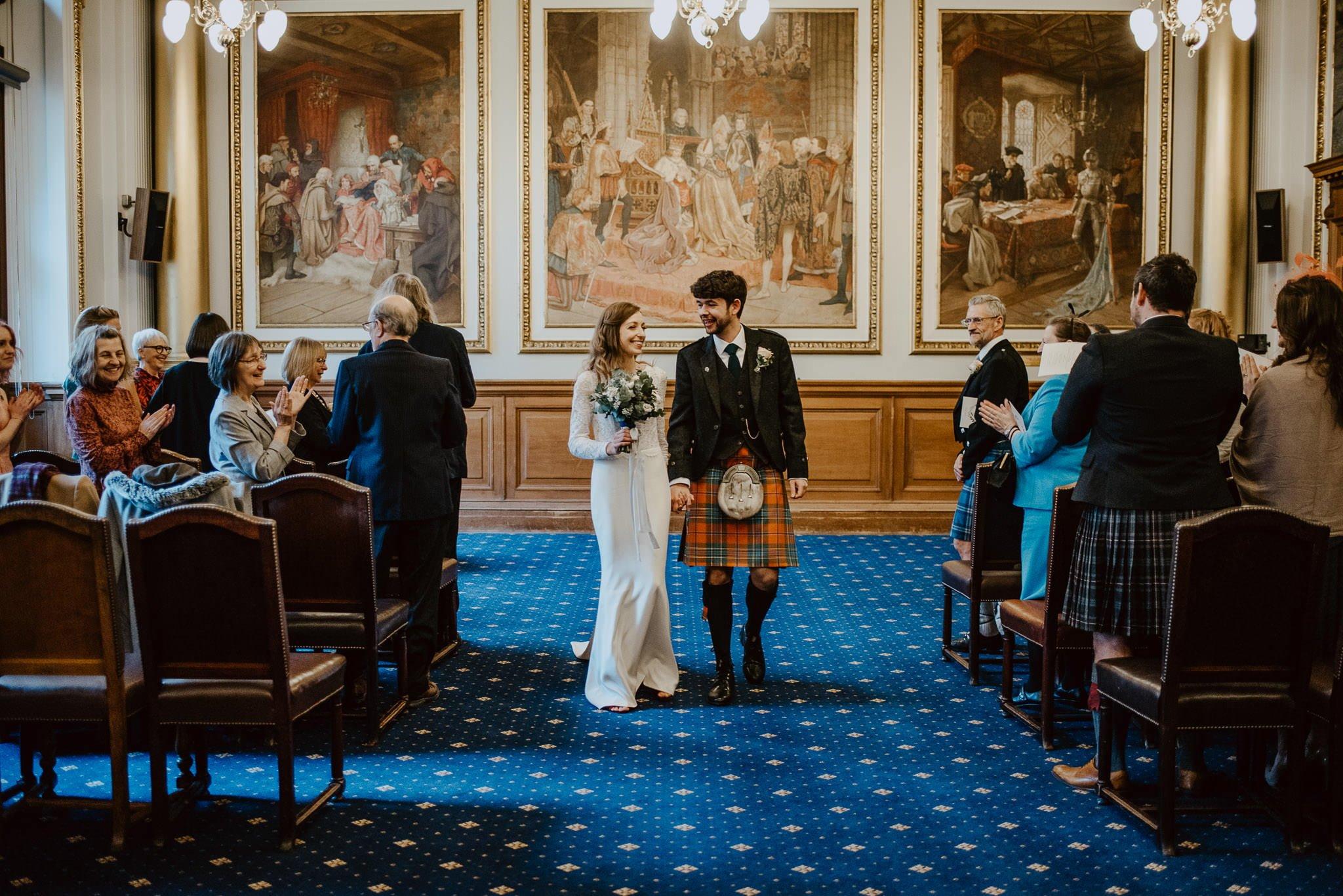A Charming Edinburgh City Chambers Wedding 20