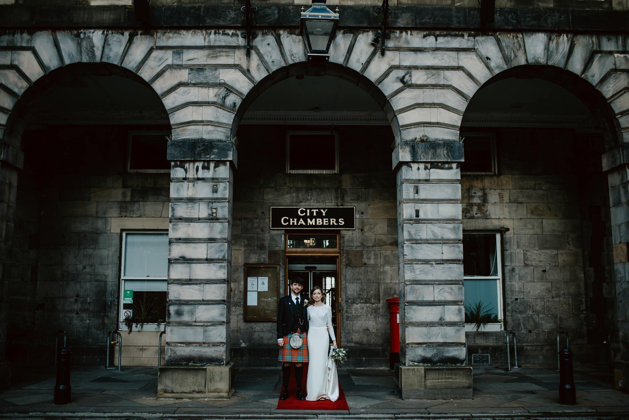 A Charming Edinburgh City Chambers Wedding 22