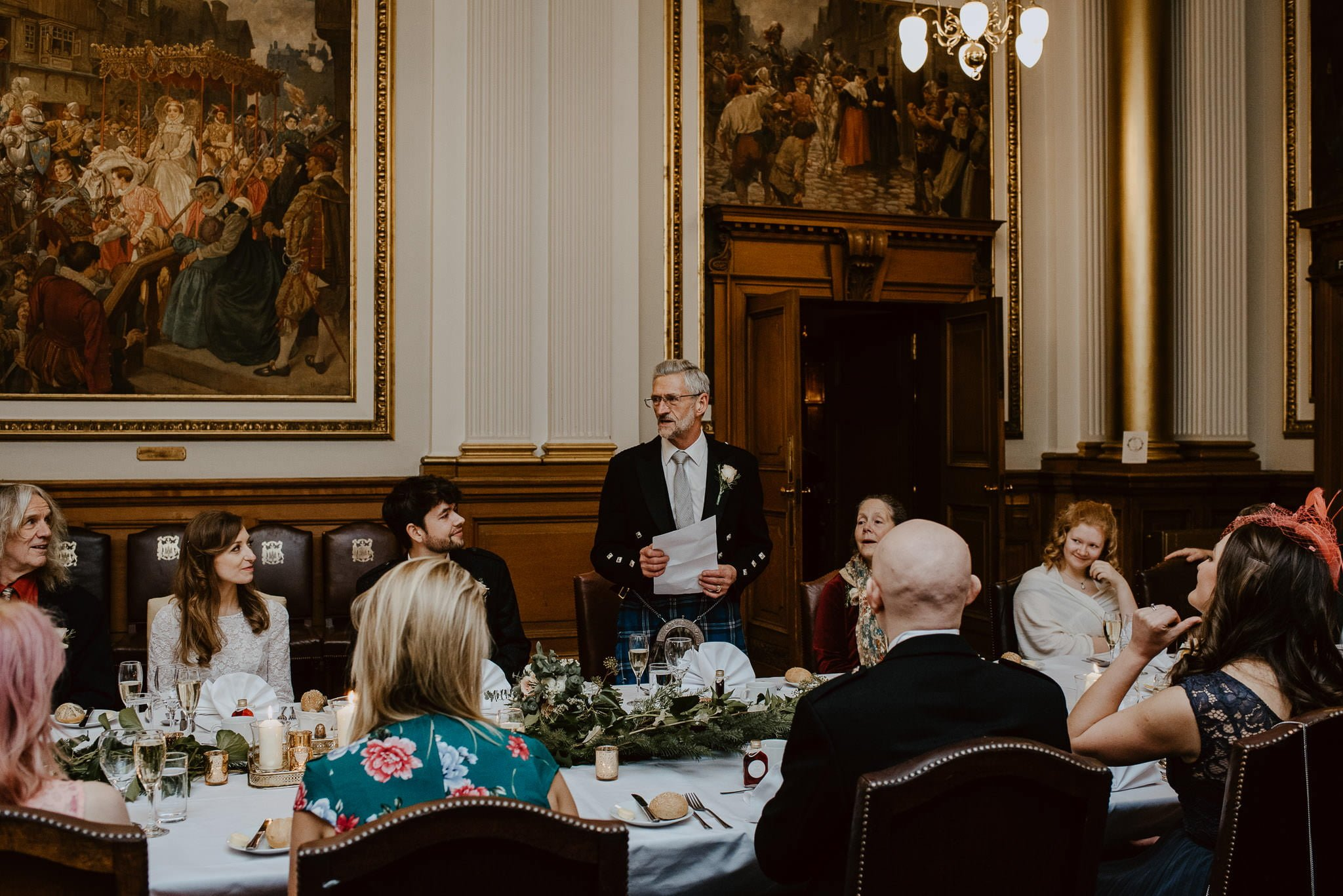 A Charming Edinburgh City Chambers Wedding 33