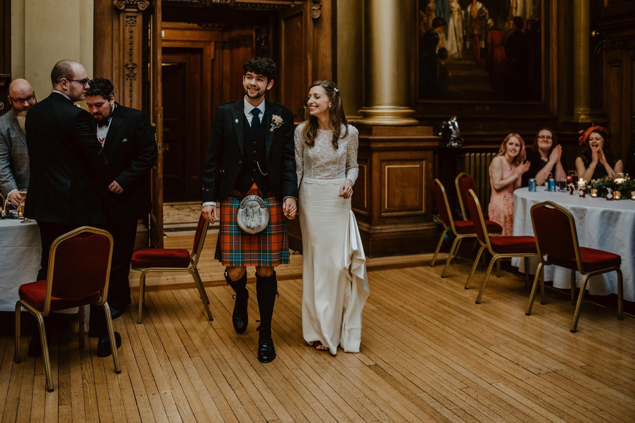 A Charming Edinburgh City Chambers Wedding 44