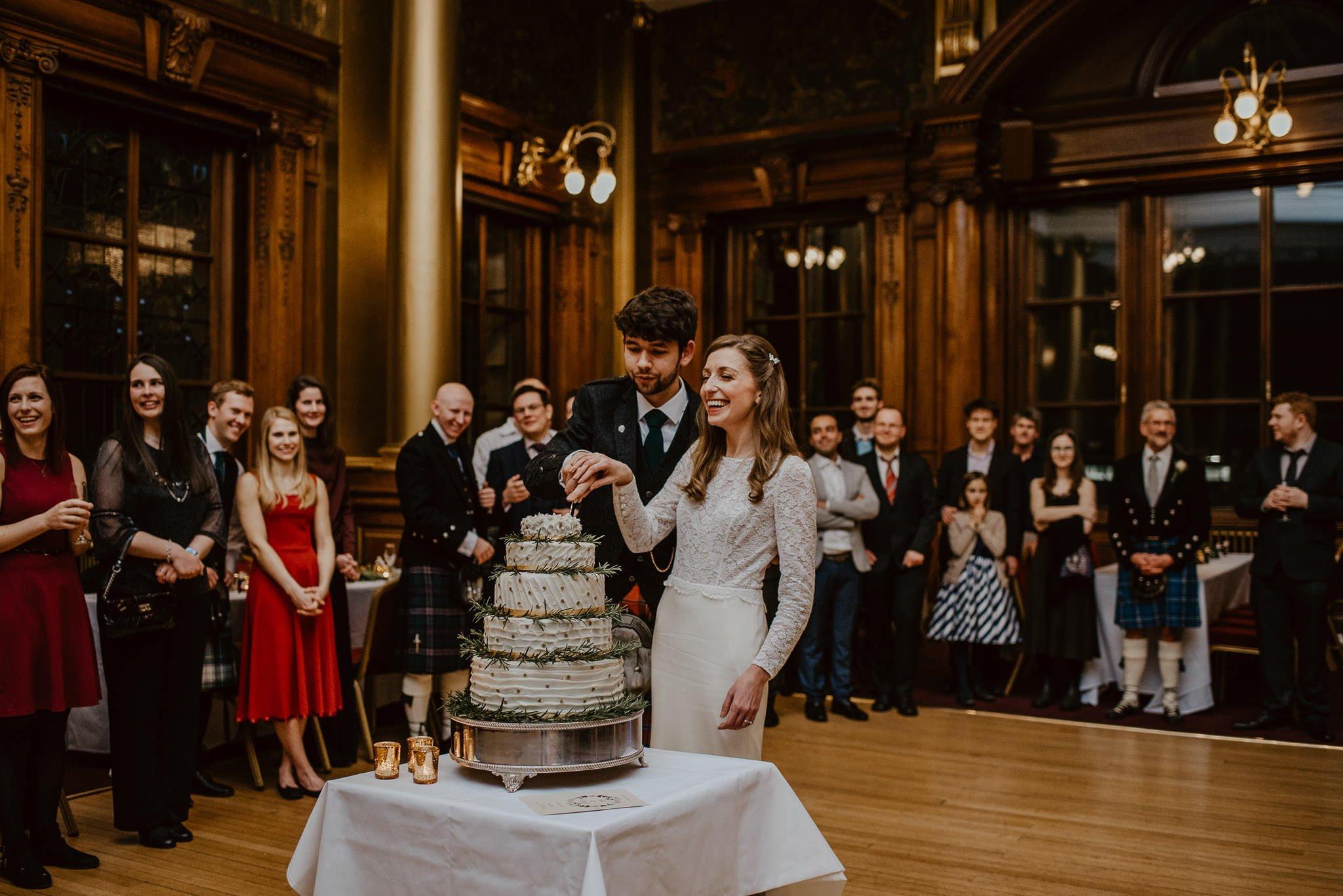 A Charming Edinburgh City Chambers Wedding 49