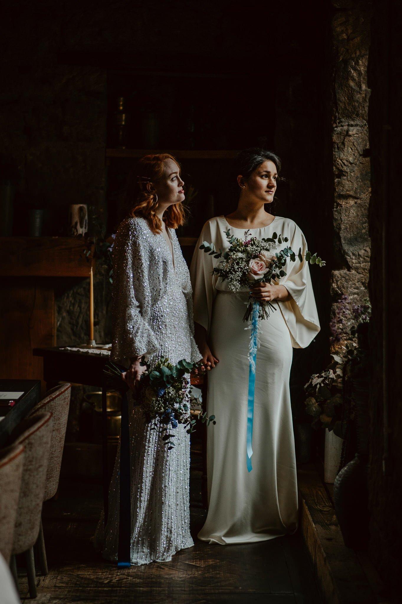 A Dreamy Pre-Raphaelite Wedding at the Bothy in Glasgow 8