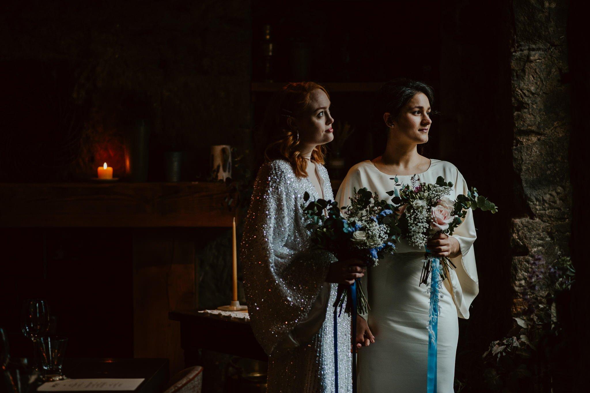 A Dreamy Pre-Raphaelite Wedding at the Bothy in Glasgow 6