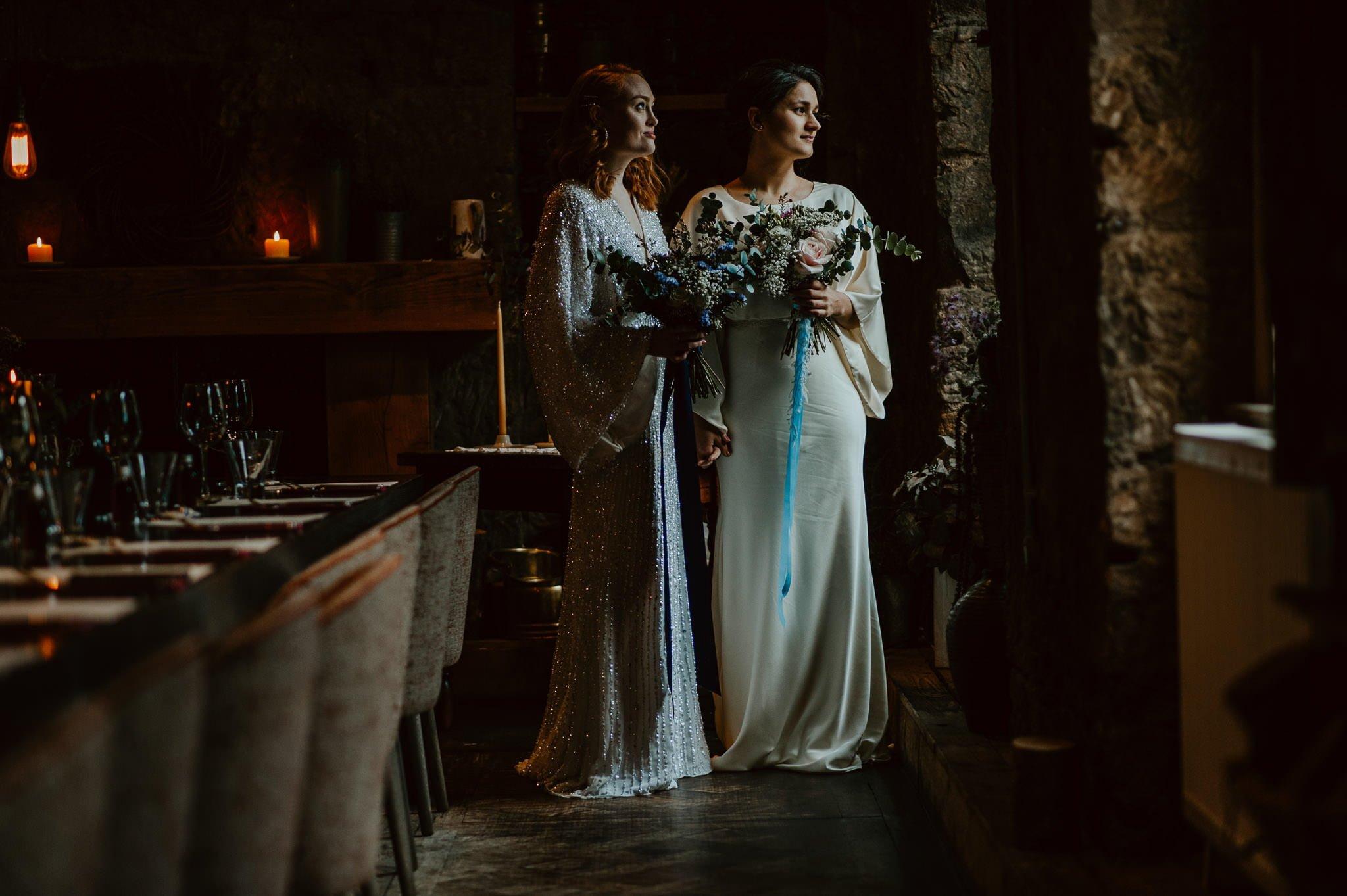 A Dreamy Pre-Raphaelite Wedding at the Bothy in Glasgow 11