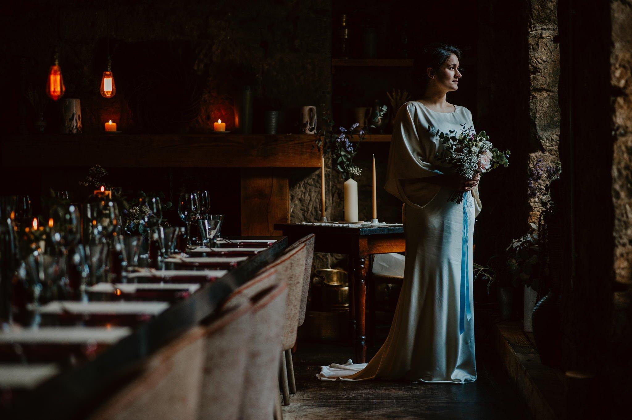 A Dreamy Pre-Raphaelite Wedding at the Bothy in Glasgow 10
