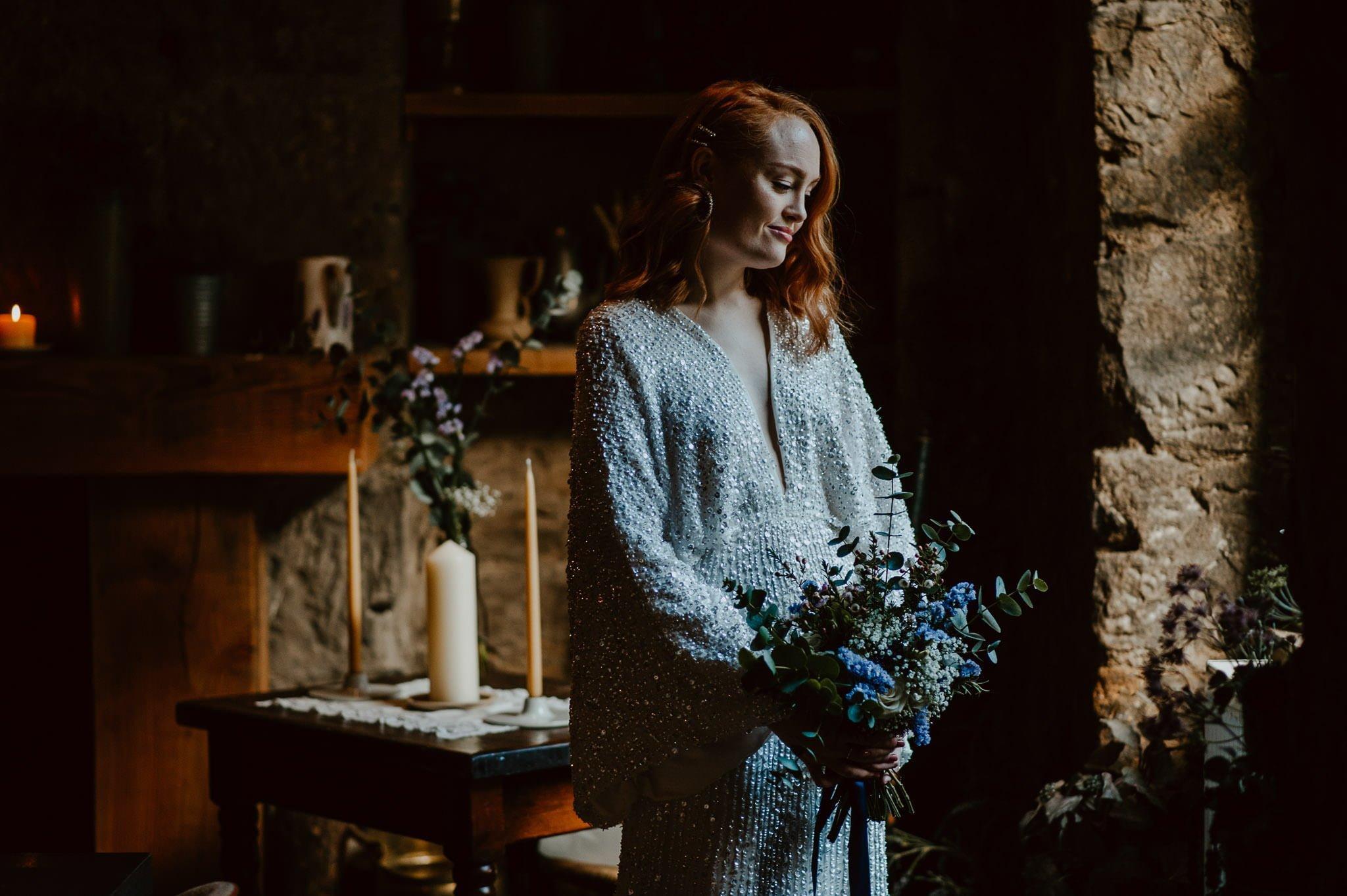 A Dreamy Pre-Raphaelite Wedding at the Bothy in Glasgow 9