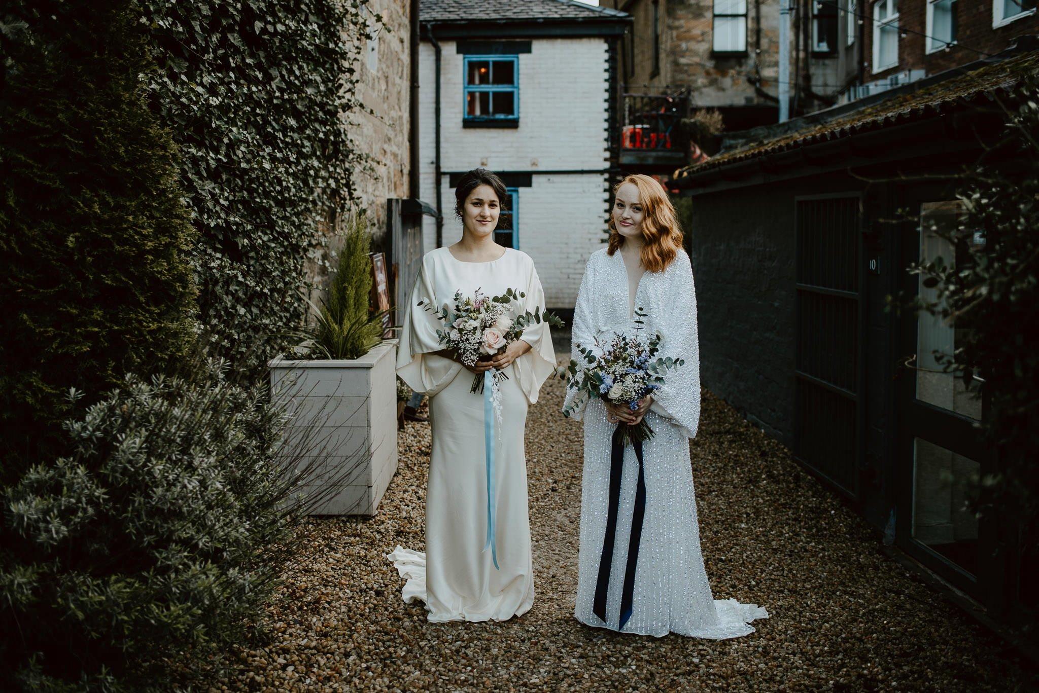 A Dreamy Pre-Raphaelite Wedding at the Bothy in Glasgow 17