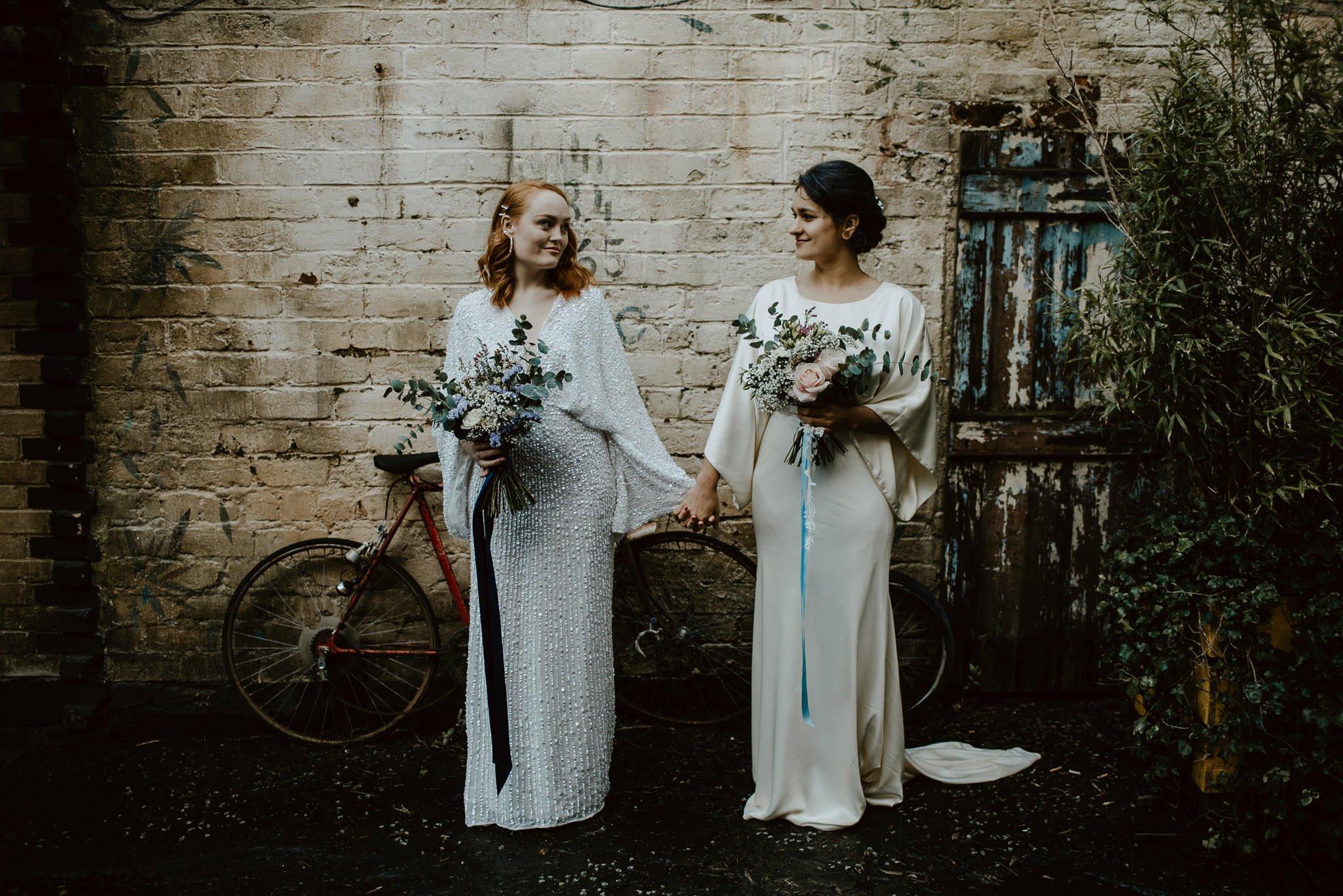 A Dreamy Pre-Raphaelite Wedding at the Bothy in Glasgow 15