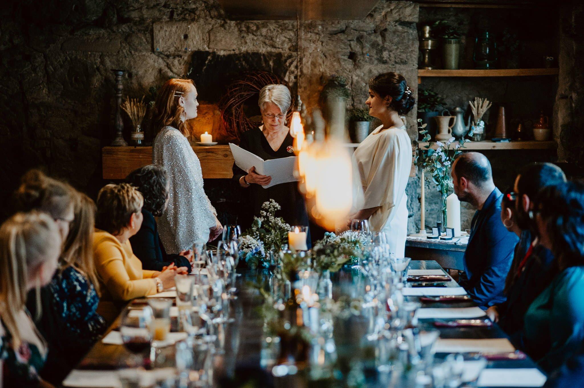A Dreamy Pre-Raphaelite Wedding at the Bothy in Glasgow 23