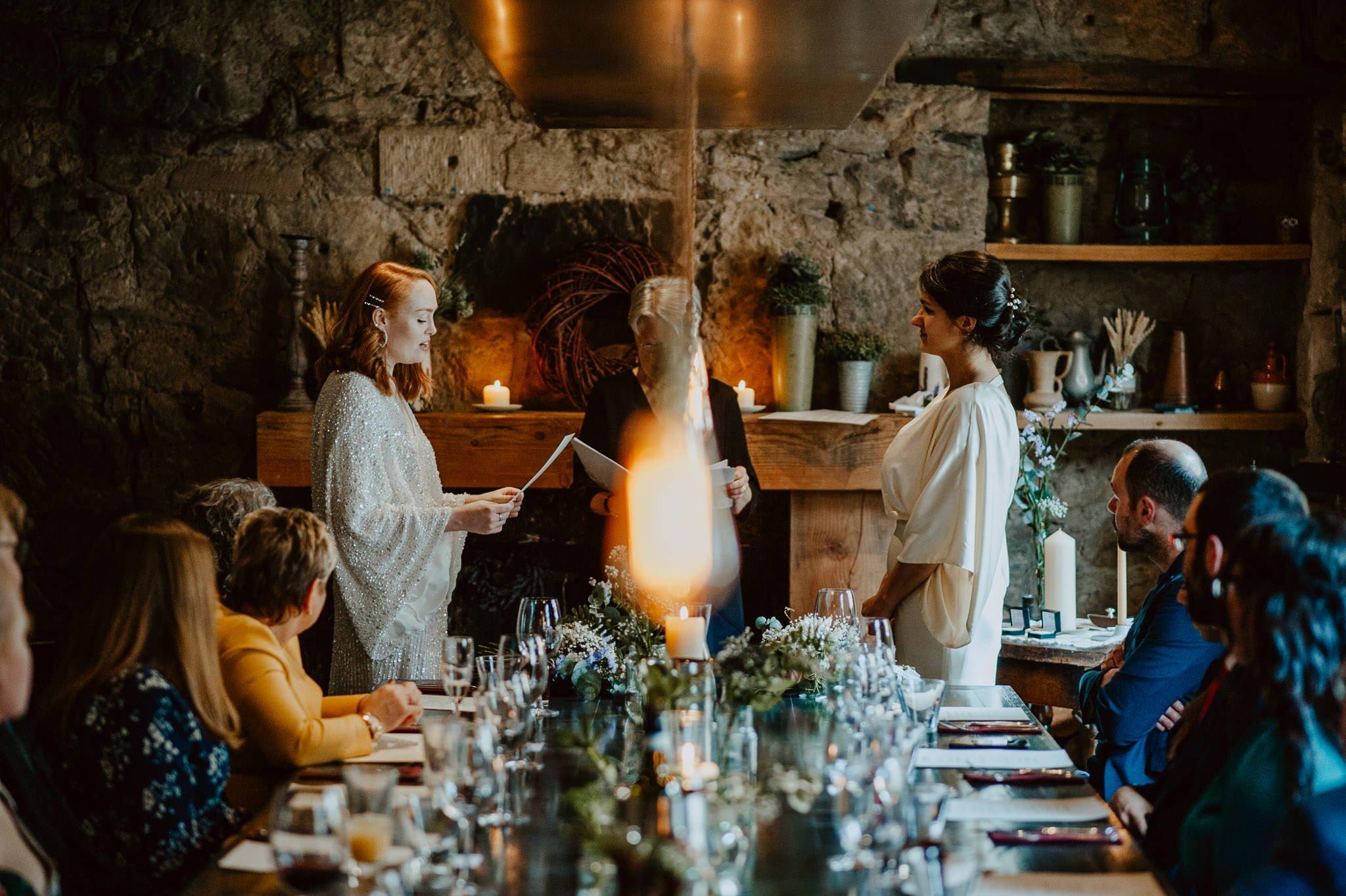 A Dreamy Pre-Raphaelite Wedding at the Bothy in Glasgow 24