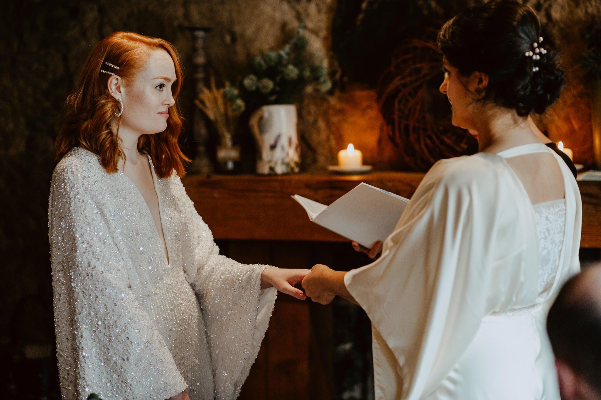 A Dreamy Pre-Raphaelite Wedding at the Bothy in Glasgow 26