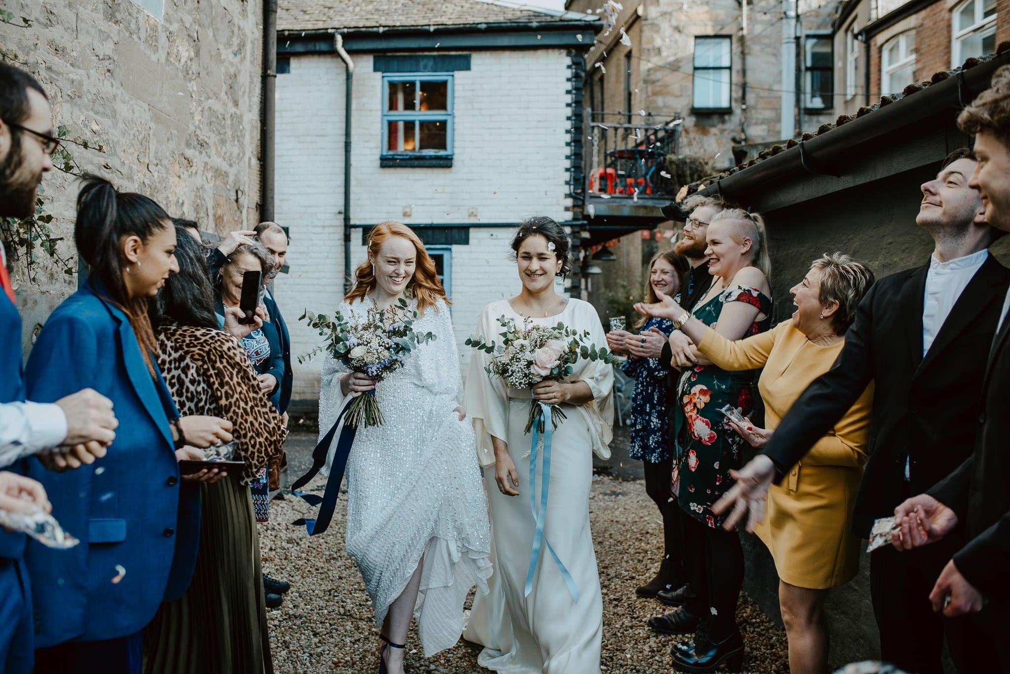 A Dreamy Pre-Raphaelite Wedding at the Bothy in Glasgow 32