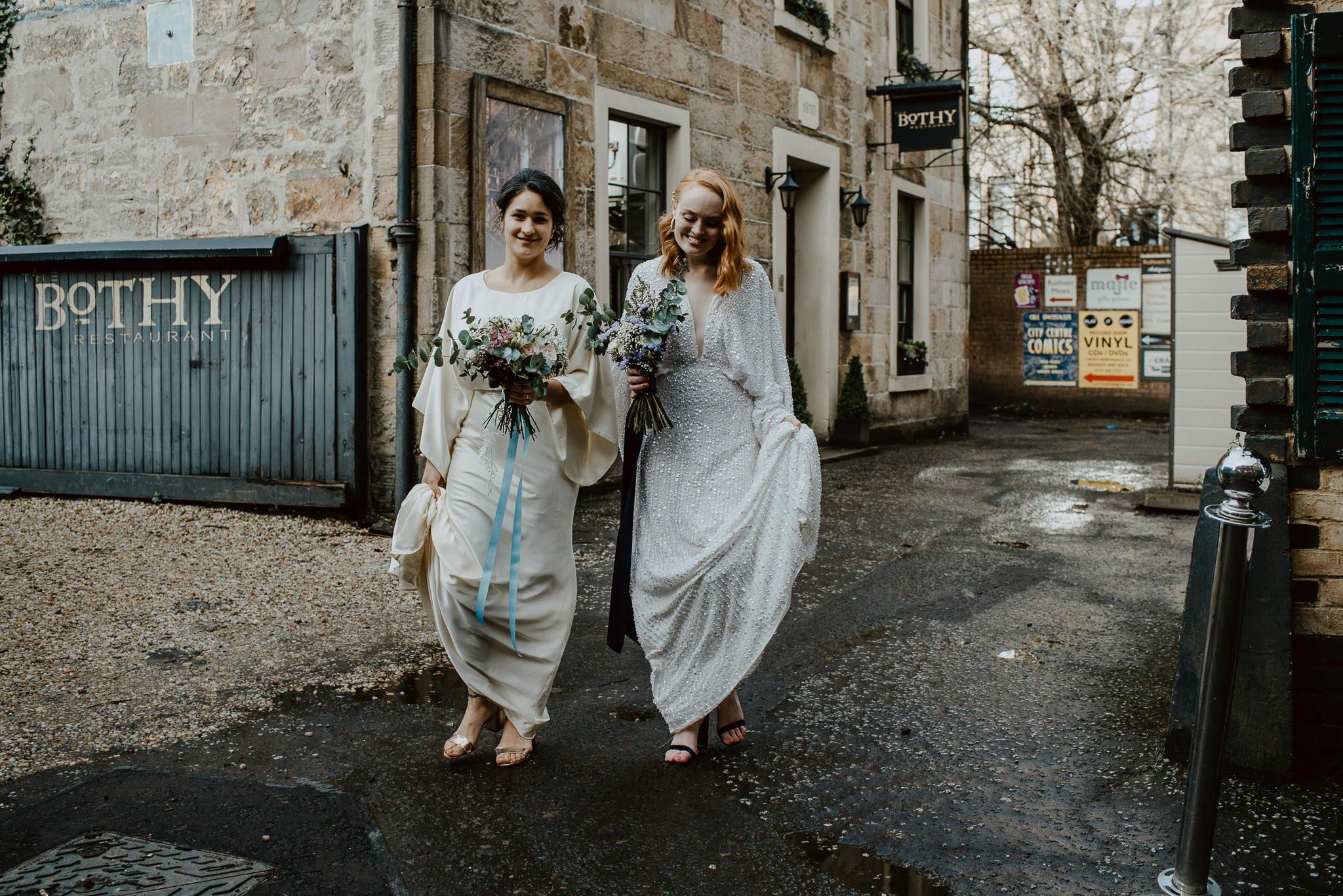 A Dreamy Pre-Raphaelite Wedding at the Bothy in Glasgow 34