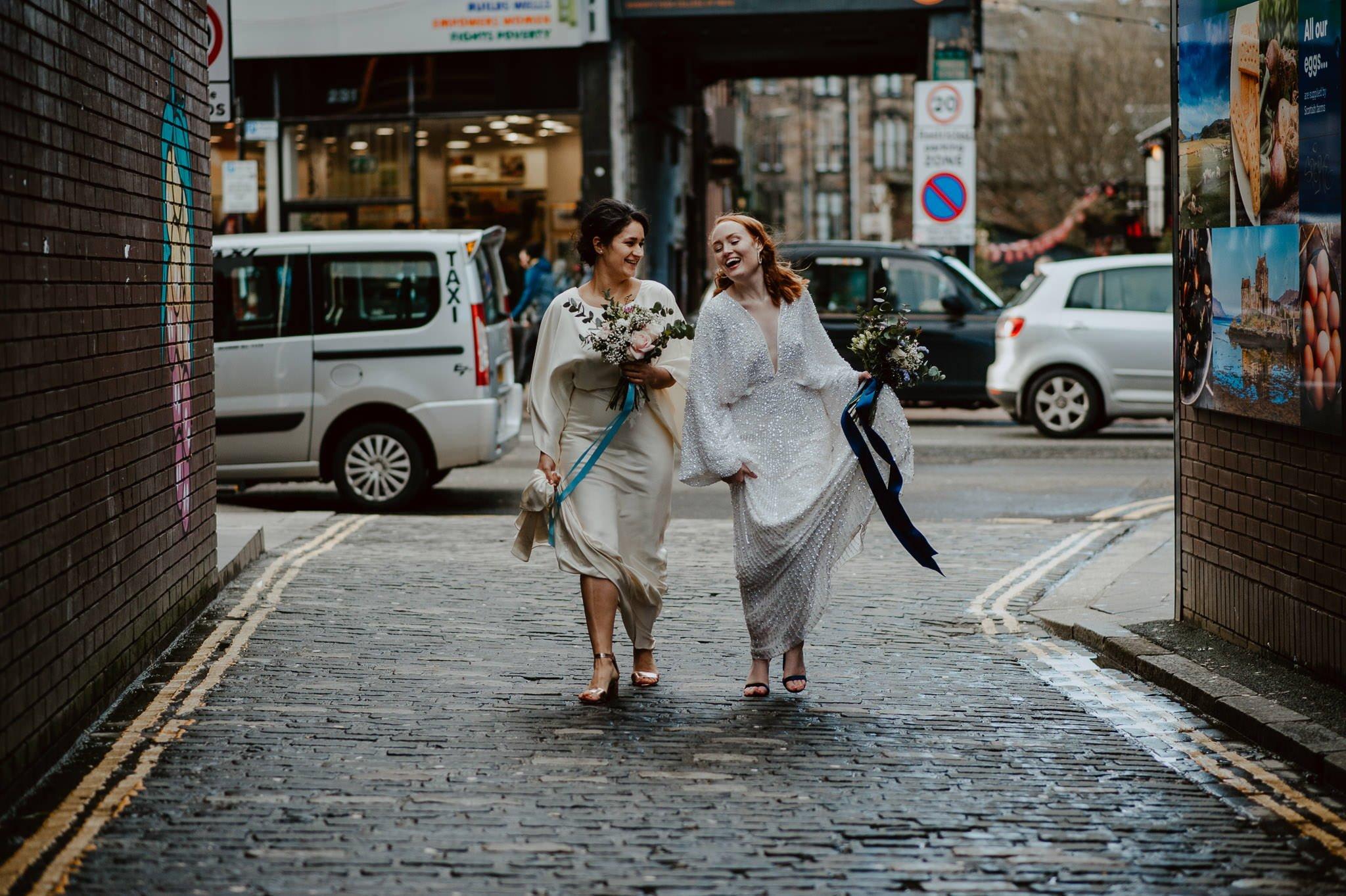 A Dreamy Pre-Raphaelite Wedding at the Bothy in Glasgow 35