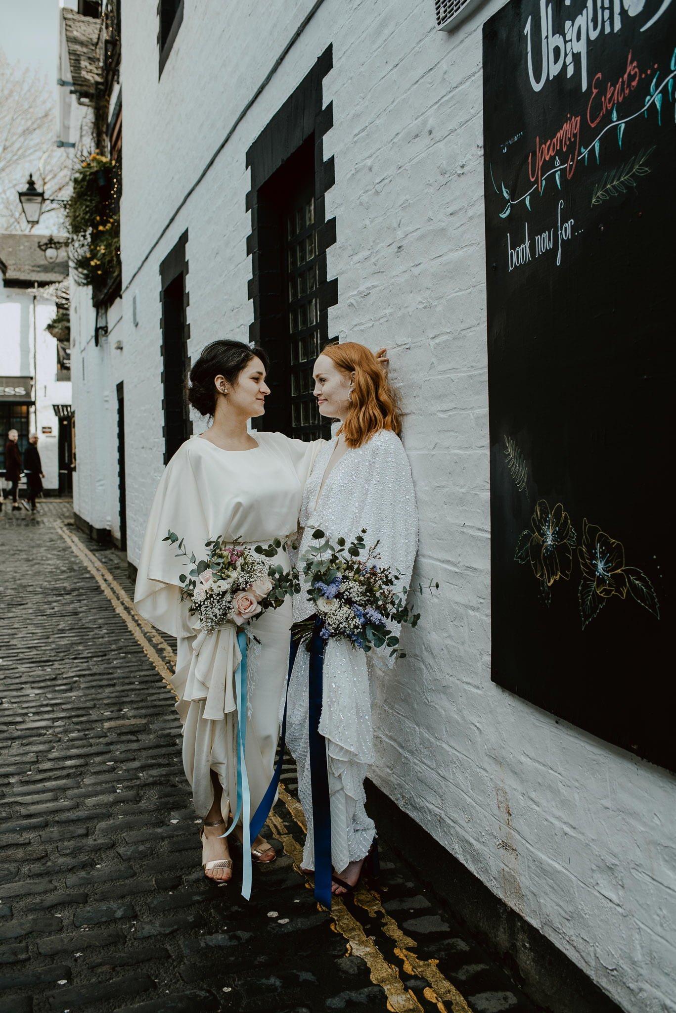 A Dreamy Pre-Raphaelite Wedding at the Bothy in Glasgow 36