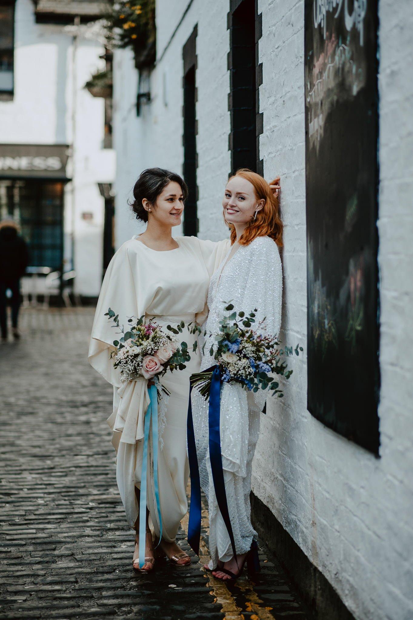 A Dreamy Pre-Raphaelite Wedding at the Bothy in Glasgow 37