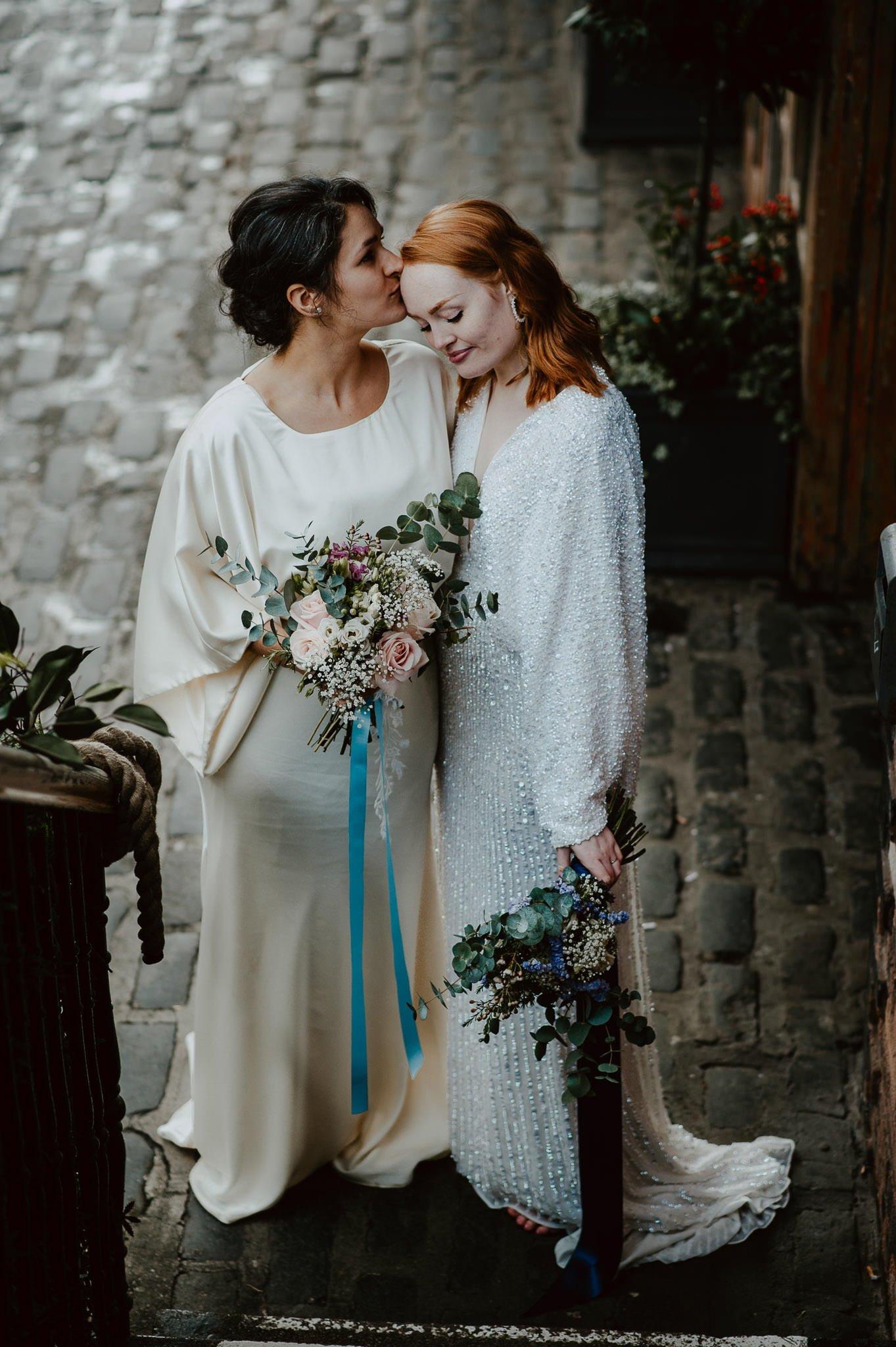 A Dreamy Pre-Raphaelite Wedding at the Bothy in Glasgow 39
