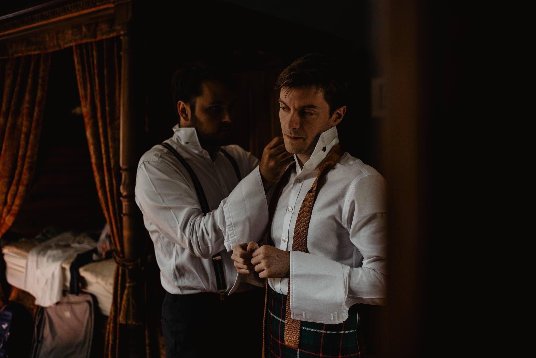 An Italian inspired wedding at Balinakill House 12