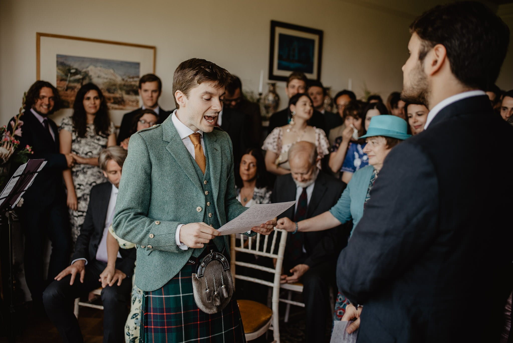 An Italian inspired wedding at Balinakill House 30