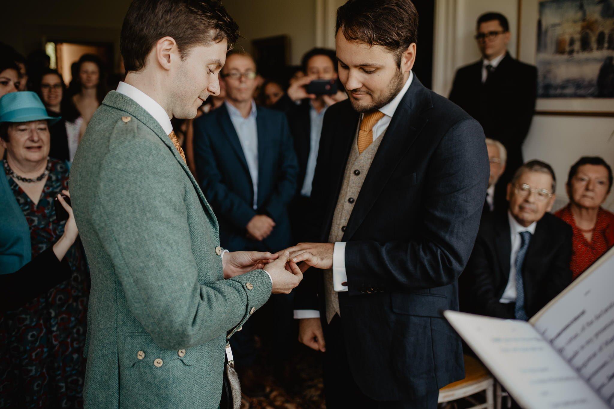 An Italian inspired wedding at Balinakill House 40