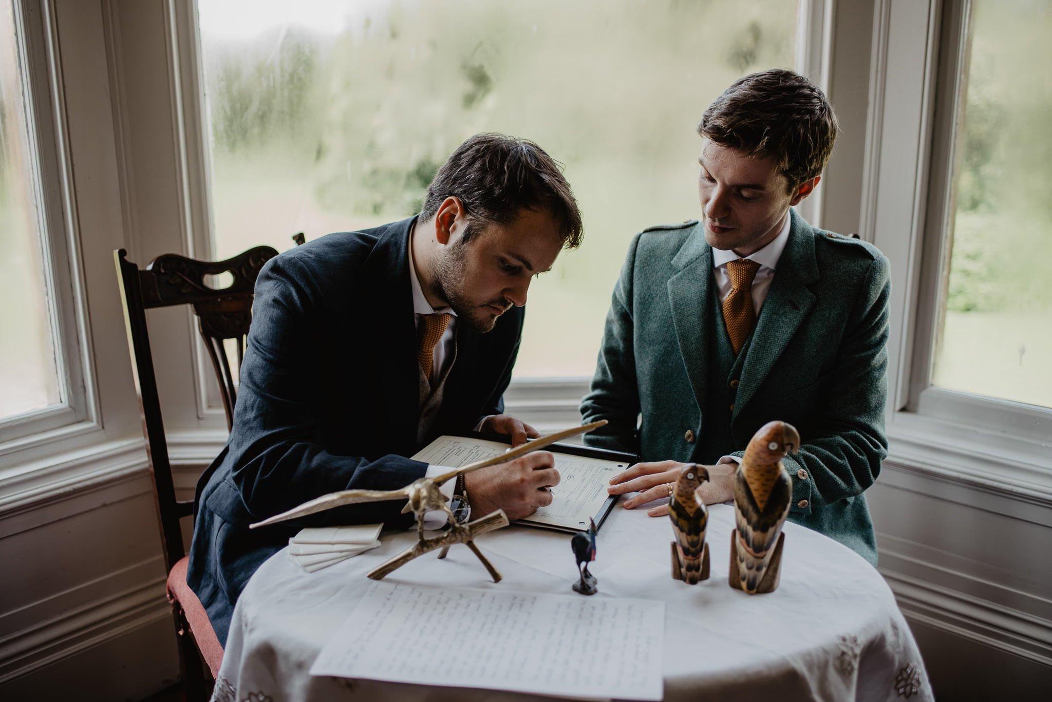 An Italian inspired wedding at Balinakill House 44