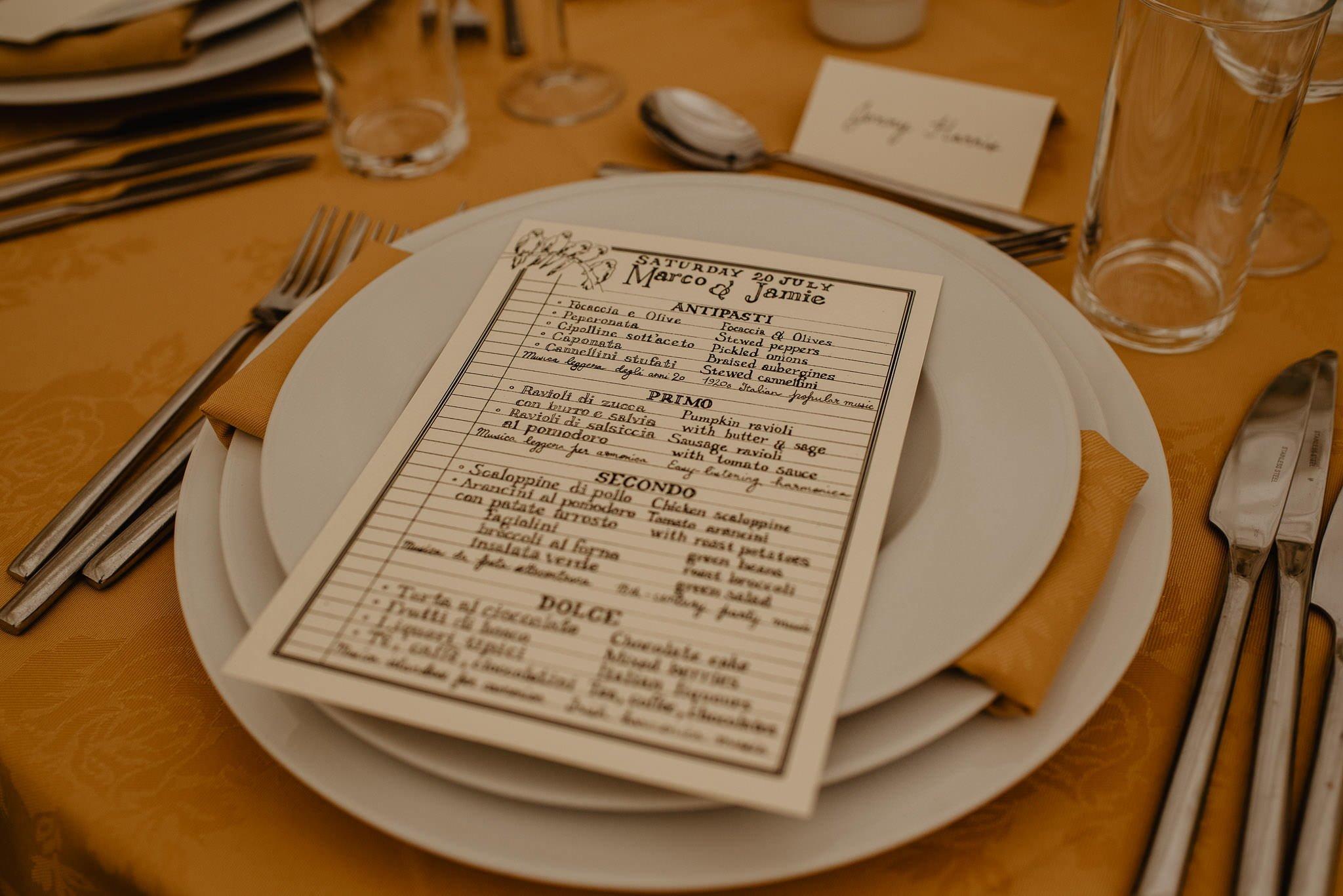 An Italian inspired wedding at Balinakill House 55