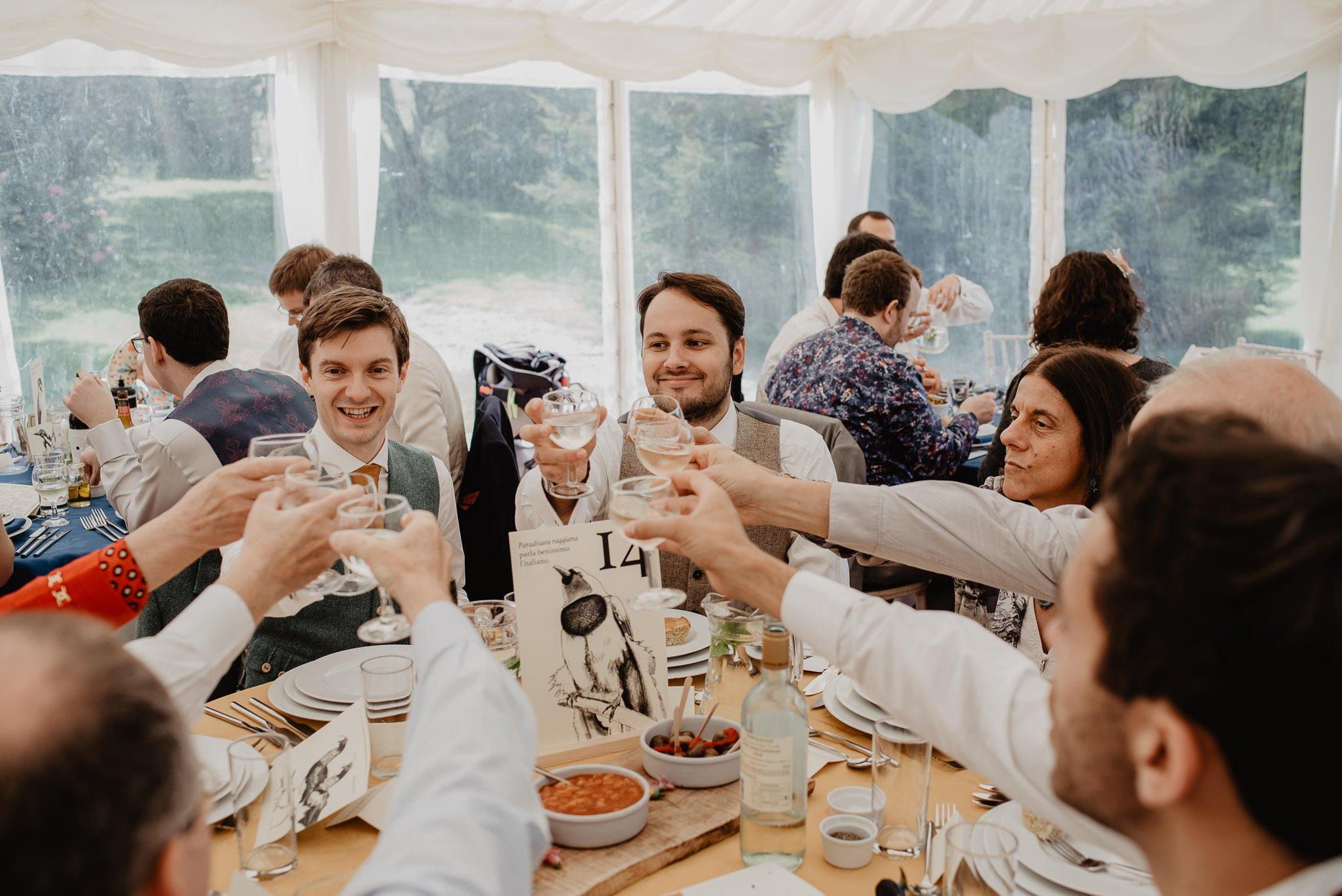 An Italian inspired wedding at Balinakill House 63