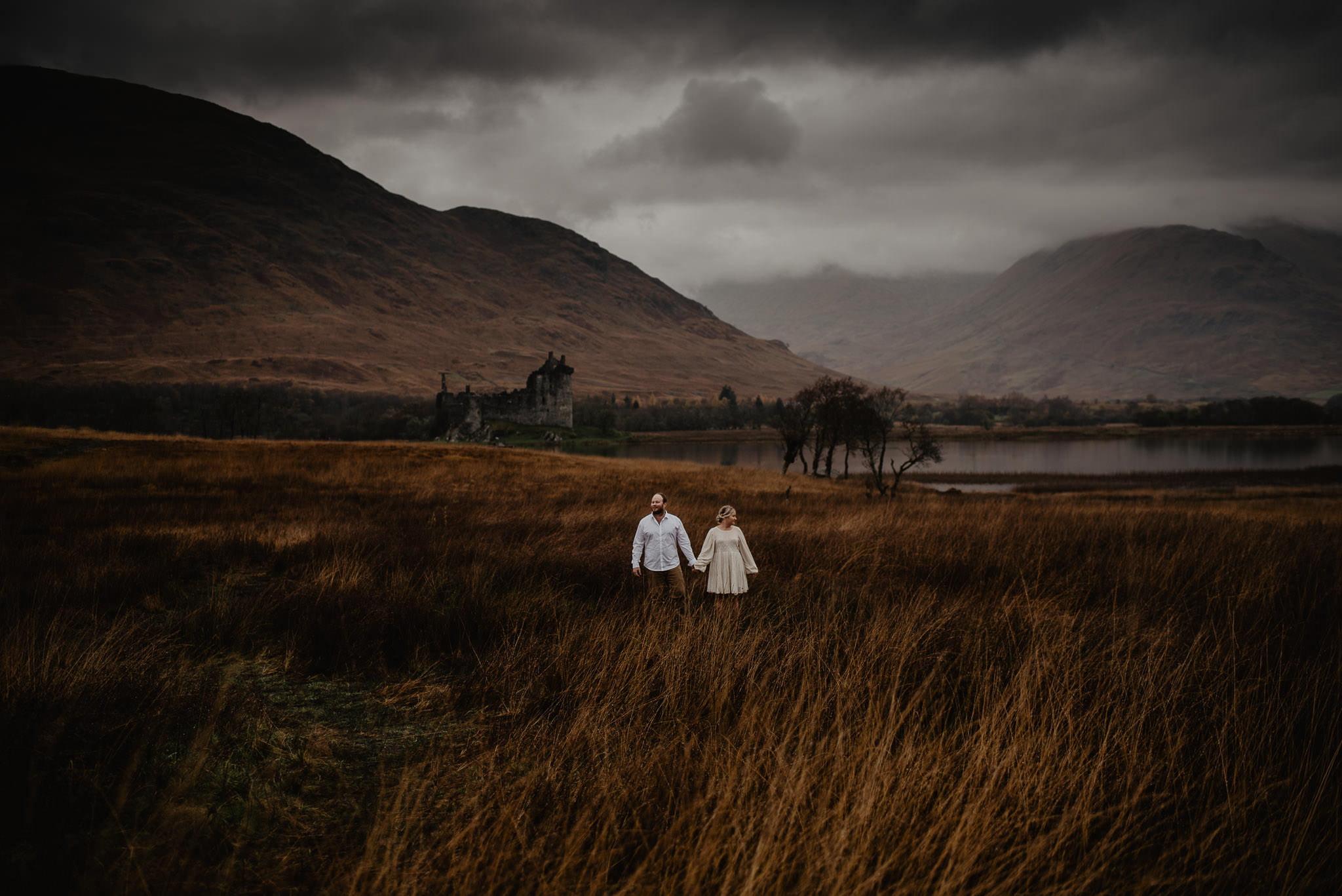 Romantic Glencoe Elopement 12