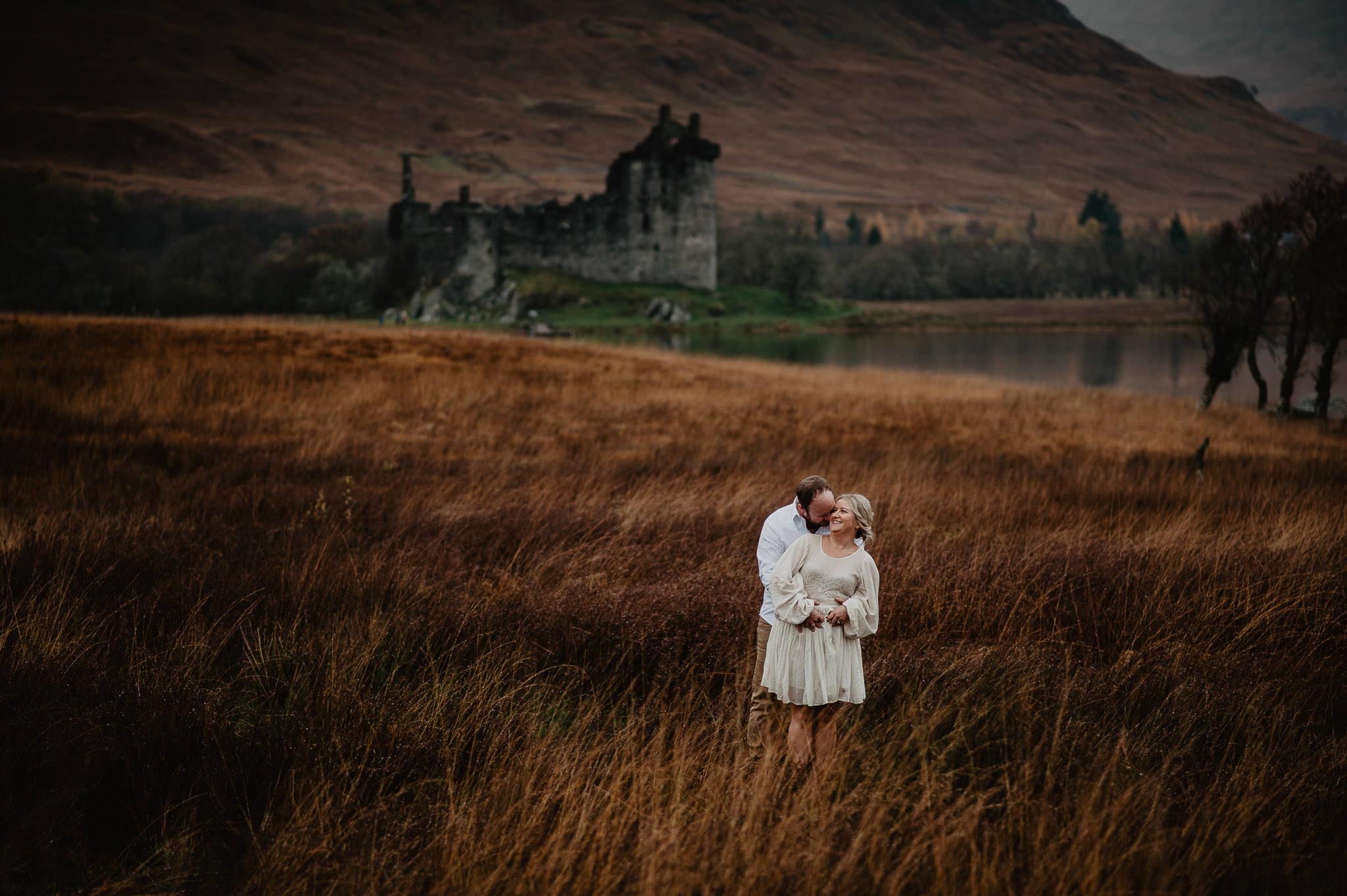 Romantic Glencoe Elopement 13