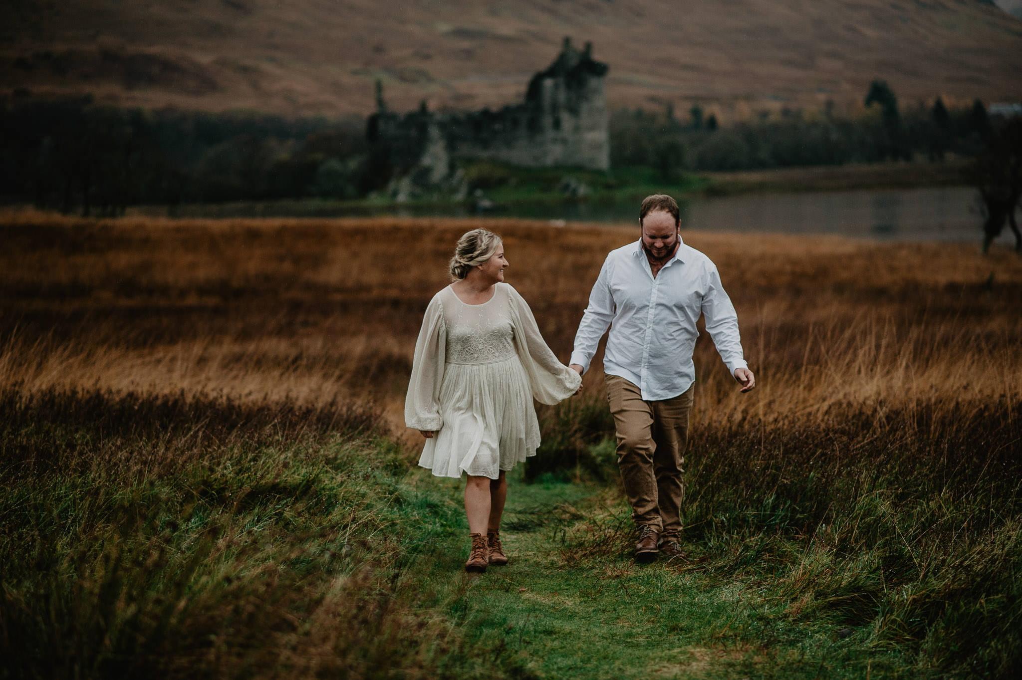 Romantic Glencoe Elopement 16
