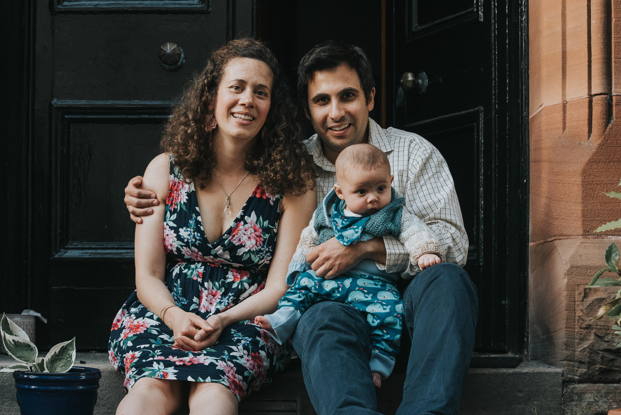 A Lovely Doorstop Family Portrait Shoot 9