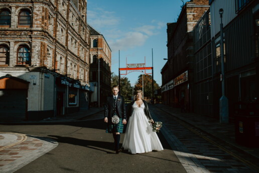 The Fabulous Barras Wedding of Laura and Mike 1